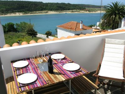 Vila Nova e Milfontes house rental - View from the roof terrace