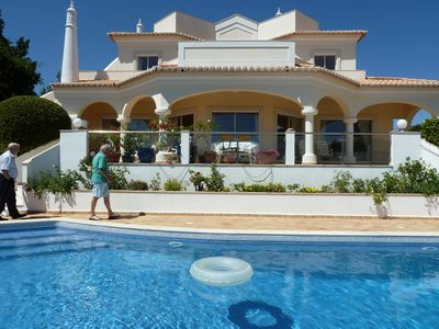 Carvoeiro villa rental - PRIVATE HEATED POOL