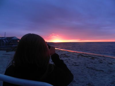 Picture of sunrise taken by our guest while on our beach Sept.'12. Thanks Steve