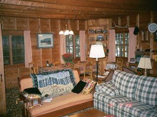 Squam Lake house photo - gracious warm classic cabin