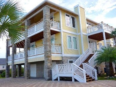 Vilano View - 3 Level Beach House w/ 4th Floor Observation Deck, Panaromic views