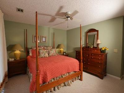 Callawassie Island villa rental - .1st or MBR with queen bed
