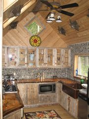 Lake Placid chalet photo - Kitchen Nicely Equipped