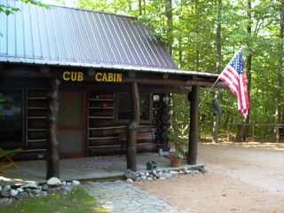 Mackinaw City cabin photo - Front of Cabin