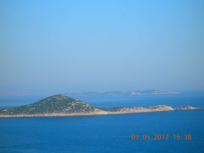 Beautiful Islands on Kalkan-Kas Road.