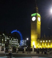 Waterloo & Lambeth apartment photo - Big Ben and London Eye