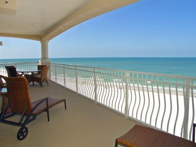 Redington Shores condo rental - 6th Floor Corner in Gulf Front Gated Community With Views For Miles!