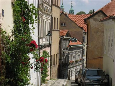 Mala Strana is charming, ancient and romantic