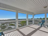 Last House In Mexico Beach, Lots of Room, 5 Bedroom, Gulf Front, Near Canal ~ Mariann's Cottage