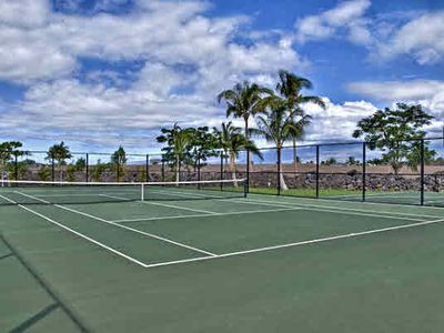 Hali'i Kai tennis facilities.
