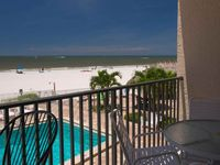 All Updated Oceanfront Condo with Private Balcony.  Fabulous Location in Madeira Beach.