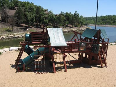 Branson West villa rental - Playground at Forrest Lake Pavillion