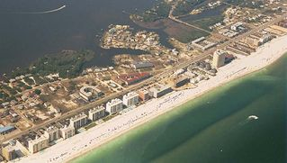 Gulf Shores condo photo - Las Palmas with Red Roof - Triangular Building