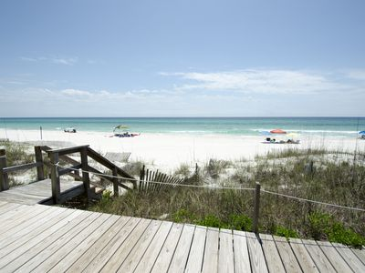 Three Steps to the Beach ~ Inlet Beach ~ Beach Entrance ~ Paradise Properties