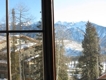 Mountain View from Family Room (3 Bdrm Unit)
