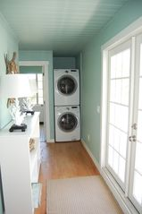 Sarasota house photo - Full Size Washer and Dryer