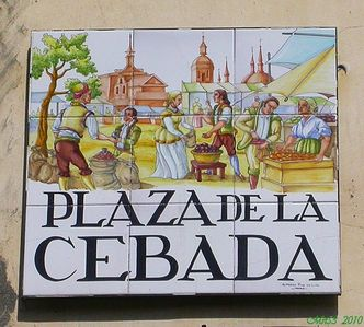 Street Name 'Plaza de La Cebada' - Property Street Address