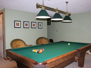 Bretton Woods townhome photo - Lower Level - Pool Table