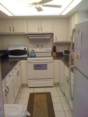 Cocoa Beach condo photo - Cocoa Beach Condo Rental - Kitchen with everything you need!