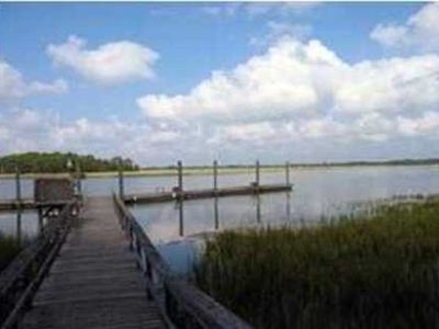 Kiawah Island cottage rental - Community Dock - Guests in this cottage have use of the community dock in Inlet Cove.