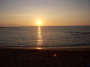 Napili condo rental - Sunset on the beach at Napili Bay!!