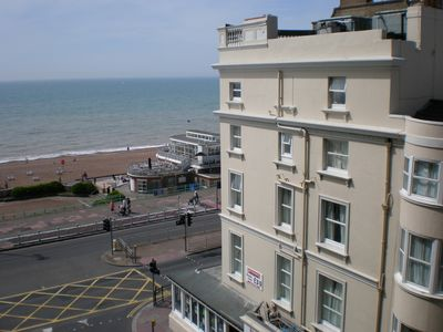 Brighton & Hove apartment rental - View at Brighton Beach from the window