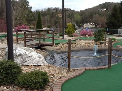 How about a game of putt-putt? Located at the Resort.