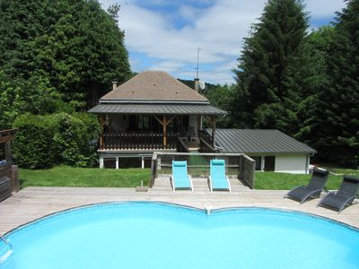 Charming House With Heated Pool Set in Mature Gardens in Quiet Hamlet