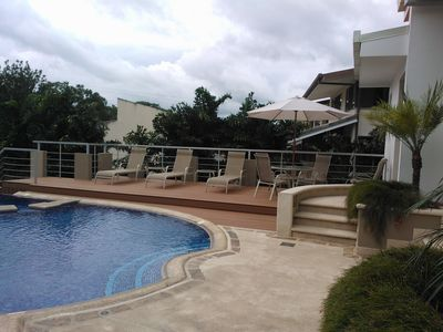 Luxury Condo, Fully Equipped And Furnished In A Very Quiet And Private Area.