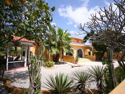 Bonaire villa rental - One of our 8-person villa's (Lora)