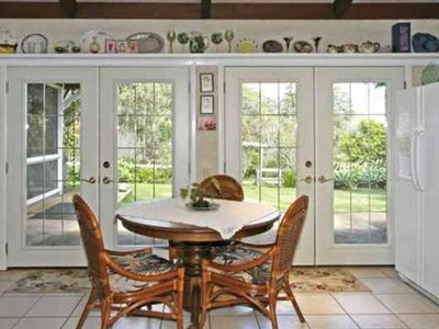 French doors all around the house walk out to large lanai (unfurnished)