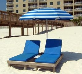 Perdido Key condo photo - Beach service available for rent by the day or week