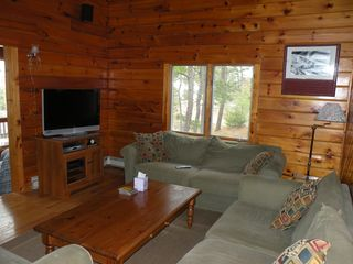 Living Room with Flat Screen TV - Wellfleet house vacation rental photo