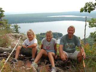 Lake Medora cottage photo - Mt. Bohemia - hike to the top and enjoy the views (15 minutes from the cottage)