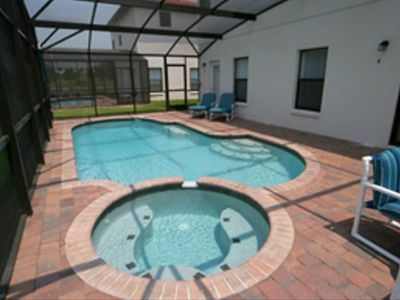 In-ground heated pool and spa.