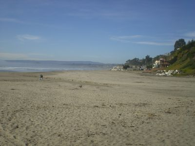 Looking towards Rio Del Mar and the Cement ship
