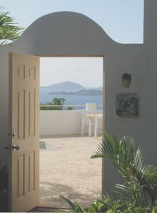 Entrance leads to the Courtyard of your Private Villa