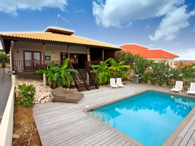 Curacao Spanish water villa for rent on Jan Thiel