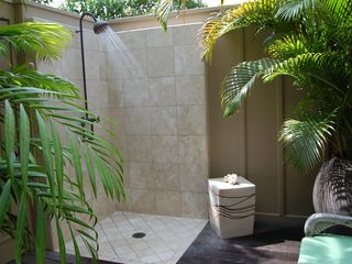 Four Seasons Hualalai villa photo - outdoor Private shower garden