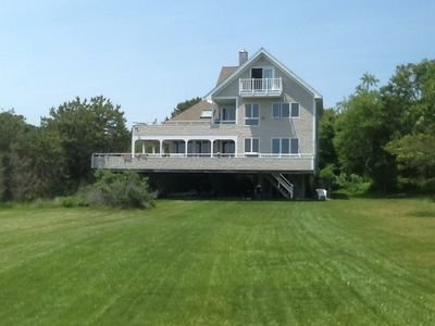 Open airy house, ample outdoor deck for fam fun. Facebook: seaside pasture