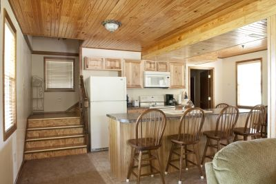 Macks Creek cabin rental - Kitchen