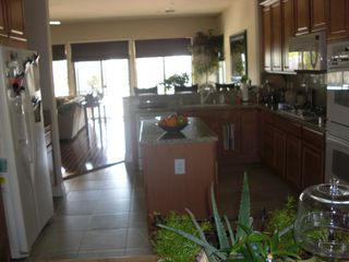 Indio house photo - Kitchen w/extra eating area