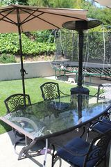 Redondo Beach house photo - The backyard gets plenty of sunlight and even on windy days is calm and relaxing