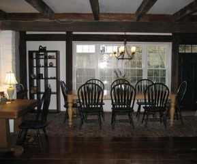 Wellfleet farmhouse photo - Dining Area