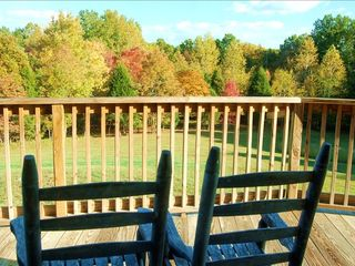 Stunning views from the wrap-around deck - Nashville house vacation rental photo