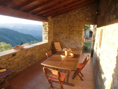 Lovely stone cottage with private garden near Bagni di Lucca