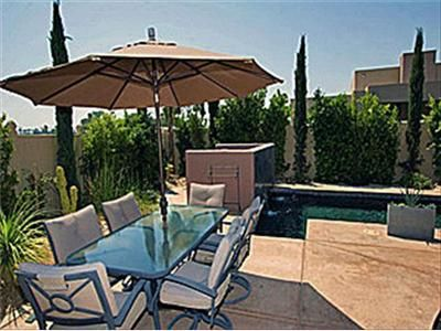 Palm Springs house rental - Outdoor Dining Table & Chairs