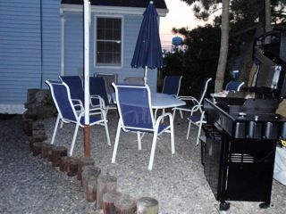 Seaside Park apartment photo - Patio for Upstairs rental