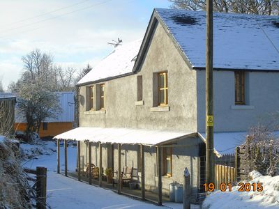 Farm Lodge With Easy Access To Walks And Highland Activities
