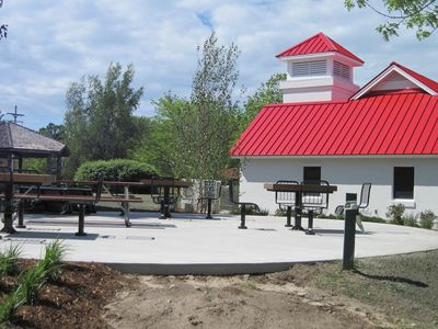 Bring your boat! Here's Northport's new Marina Service Building.